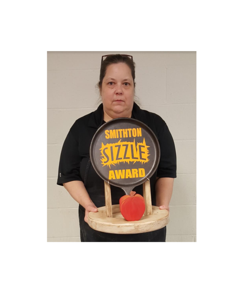 Mrs. Valarie Schultz Won the May 2019 Sizzle Award