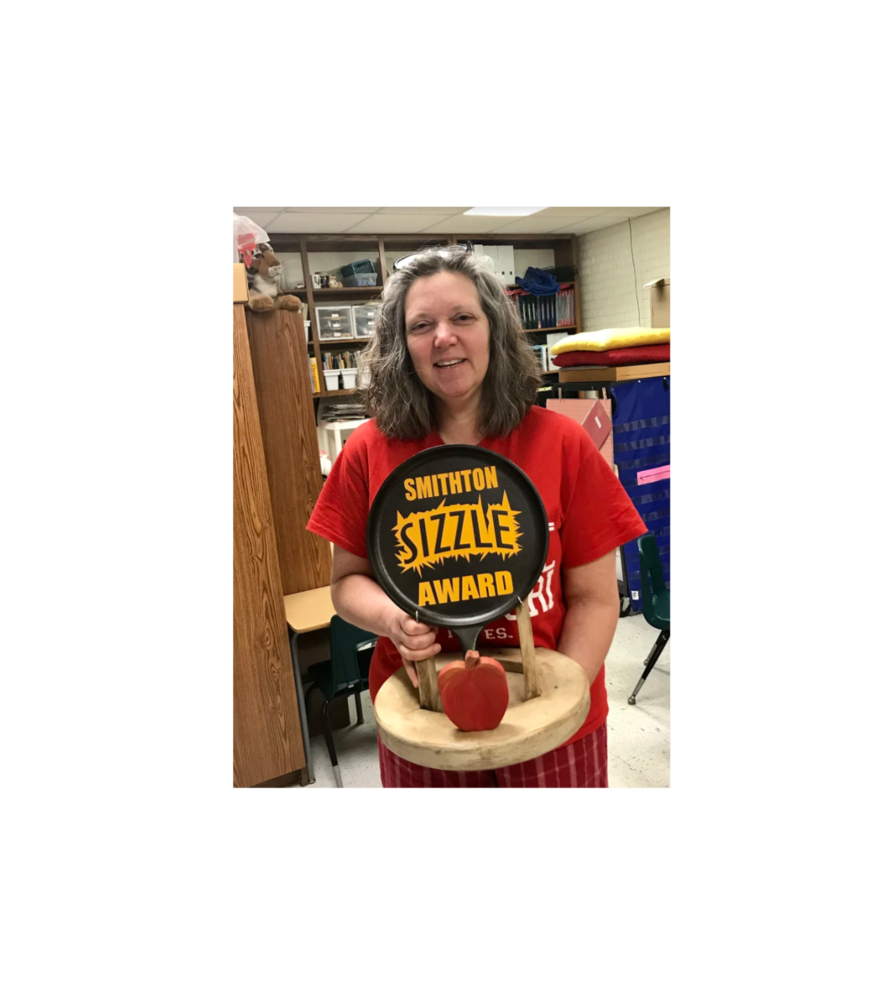 Mrs. DeHaven Wins the Sizzle Award