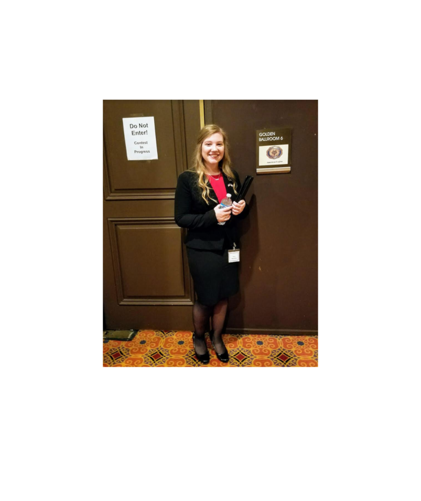 Marissa Gertz and The National American Legion Oratorical Competition