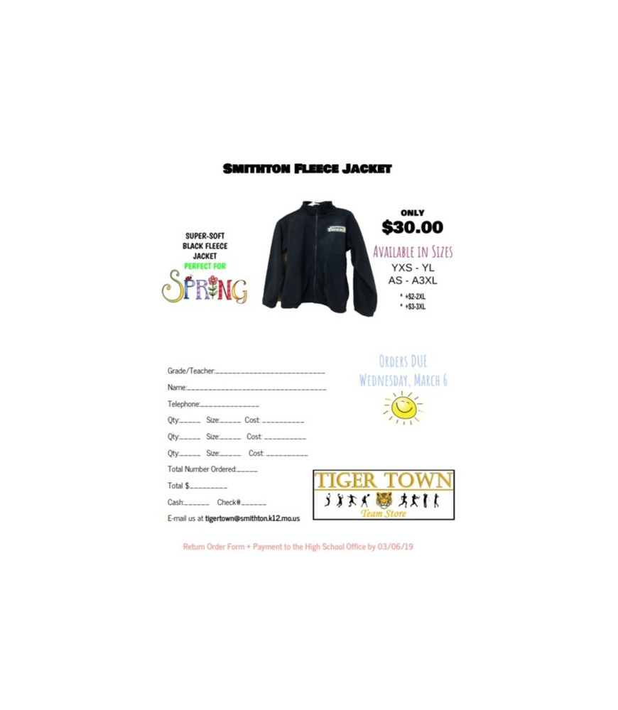 SMITHTON FLEECE ON SALE NOW!