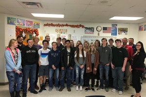 BTC Bank Visits Smithton Finance Class