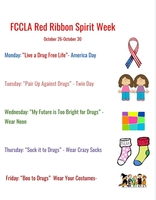 FCCLA Red Ribbon Spirit Week