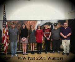 VFW Post 2591 Announces Winners!