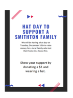 PreK-12 Hat Day to Support a Smithton Family