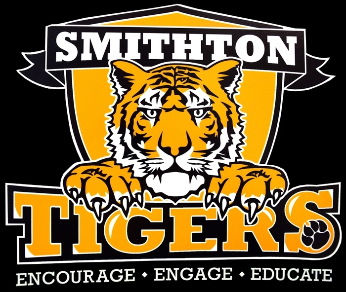 Smithton Tigers Encourage Engage Educate Logo
