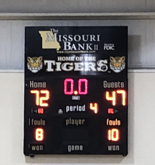 Great win Tigers!